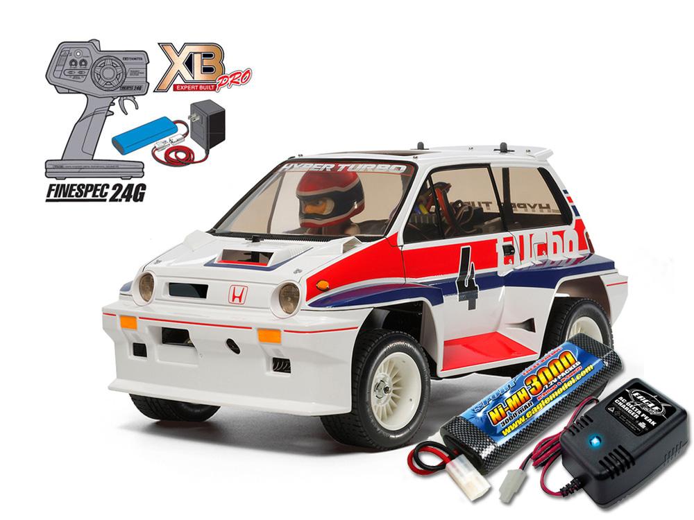 タミヤ XBフルセット 2.4G Honda Honda シティターボ(WR-02Cシャーシ) +急速充電器・大容量バッテリーセット #2883-2638-57894, 仙北町:dc4c9a9d --- sunward.msk.ru