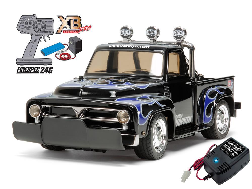 タミヤ XBフルセット 2.4G ローライド パンプキン (M-06シャーシ)+急速充電器セット#2638-57879