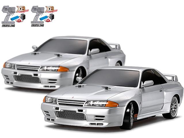 タミヤ 1/10RC XBフルセット NISSAN スカイライン GT-R (R32)(ドリフトスペック) 2セット #57783-2