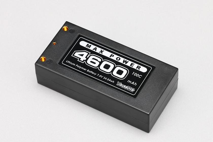 ヨコモ Li-po 4600mAh/7.4V ショートサイズ バッテリー 品番YB-V246B