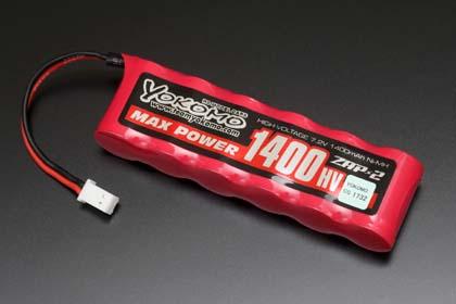 直送商品 ネコポス発送 送料無料 ヨコモ MAX 宅配便送料無料 1400HV ミニサイズRC用バッテリー #YB-M14PB POWER