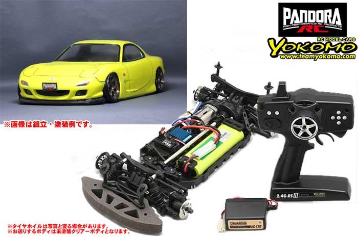 ヨコモ 2.4GHzシステム搭載 組立済ドリフトレーサー +Mazda RX-7 [FD3S] PAB-2122