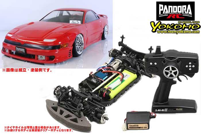 ヨコモ 2.4GHzシステム搭載 組立済ドリフトレーサー+Mitsubishi GTO PAB-2154