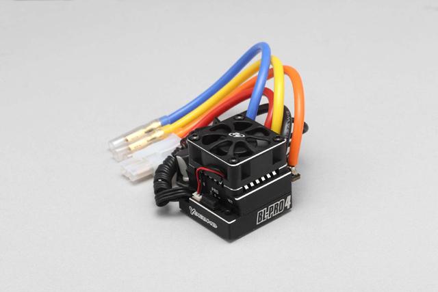 ヨコモ センサー付 ブラシレス スピードコントローラー(接続コード配線済) #BL-PRO4B