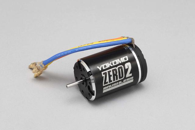 ヨコモ ZERO 2 ブラシレスモーター (ブラックアルマイトカラー) 8.5T #YM-BL85B