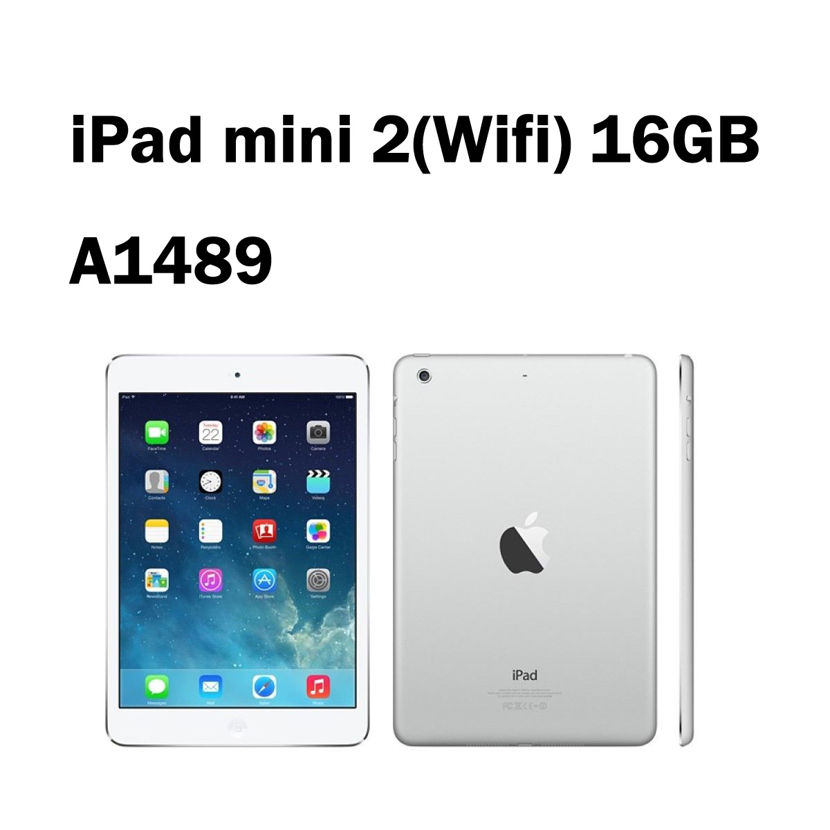 iPad mini 2 Wi-Fi:A1489 16GB 7.9インチ アップル 中古 タブレット 【シルバー】【ランクB】【中古】