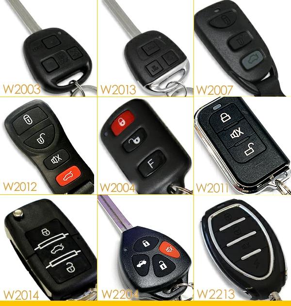키 리스 엔트리 키트 응답 기능/도요타 자동차 대응 더미 보안 LED와 12V 용