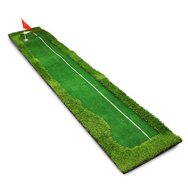 パターマット/ゴルフ パット練習用マット 3m/ロングタイプ パッティングマット