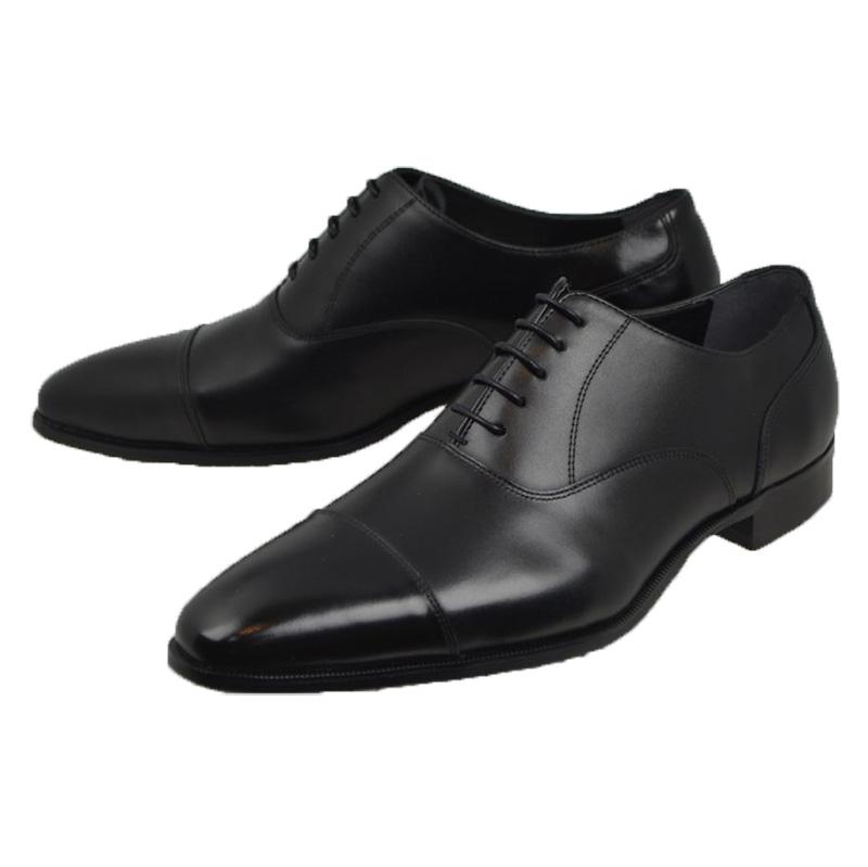 モデロ[MODELLO]マドラス[DM3651]BLACK ブラック ビジネスシューズ フォーマル ストレートチップ ラウンドトゥ マッケイ ボローニャ製法