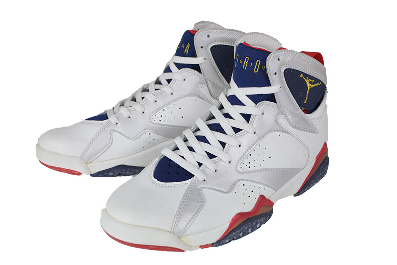 meet b8455 cfead [1992-original] NIKE WHITE/MNNAVY-TRURED [AIR JORDAN 7]