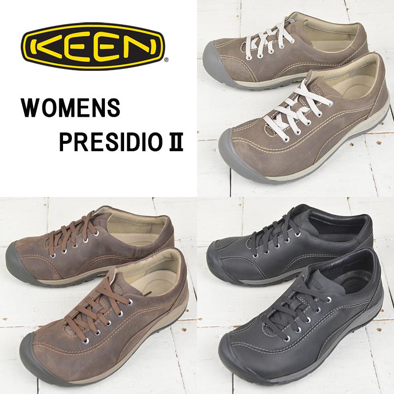 キーン レディース コンフォートシューズ【KEEN】PRESIDIO 2 プレシディオ 2 ウォーキング カジュアル