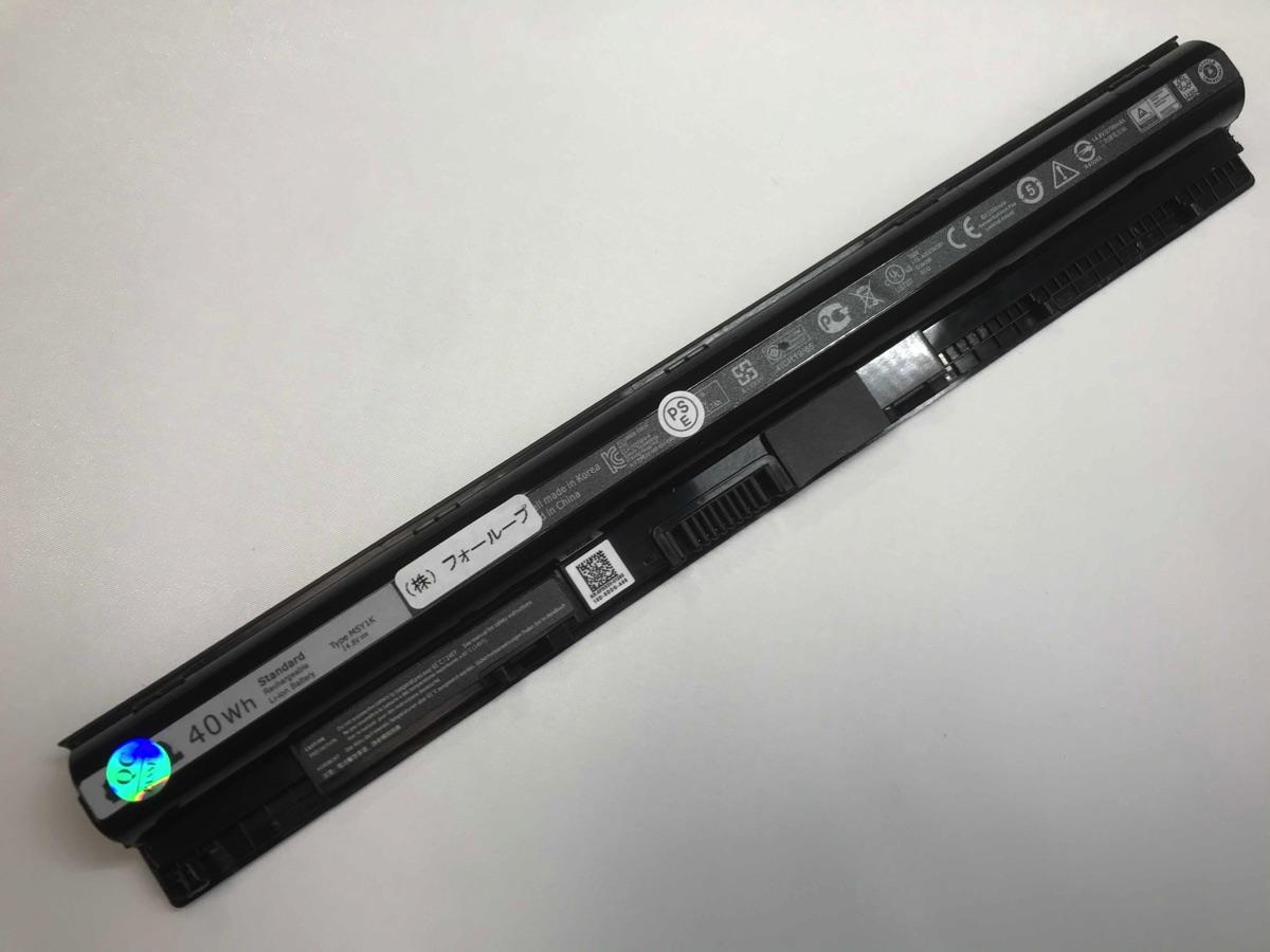 新品 送料無料 M5y1k 14.8V 40Wh dell ノート 交換バッテリー 電池 純正 PC ノートパソコン 国産品