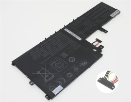 E406sa-eb095t 11.4V 56Wh asus ノート PC ノートパソコン 純正 交換バッテリー 電池:バッテリーショップ FULL CHARGE