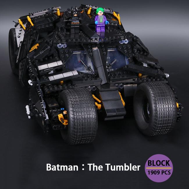 バットマン:ザ・タンブラー Block オモチャ コレクション ブロック DIY 1909ピース※LEGO社の製品ではございません。【送料無料】