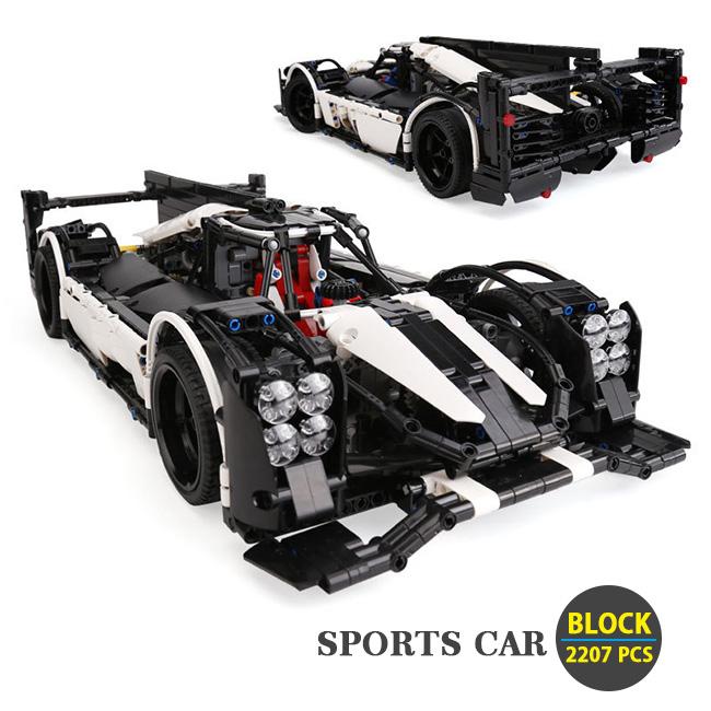 SPORTS CAR Block オモチャ コレクション ブロック DIY2207ピース※LEGO社の製品ではございません。【送料無料】