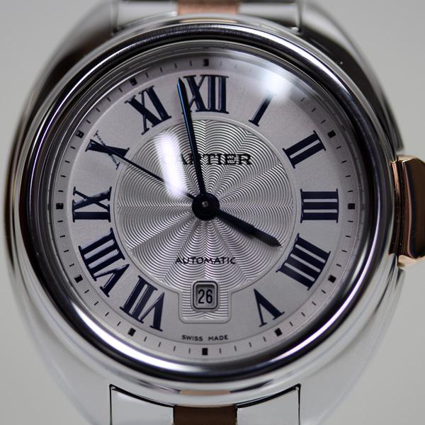 【MT2247】★カルティエ CARTIER クレ ドゥ カルティエ レディース腕時計自動巻き W2CL0004 K18PG/SS★【中古】【美品】【質屋出品】【あす楽】