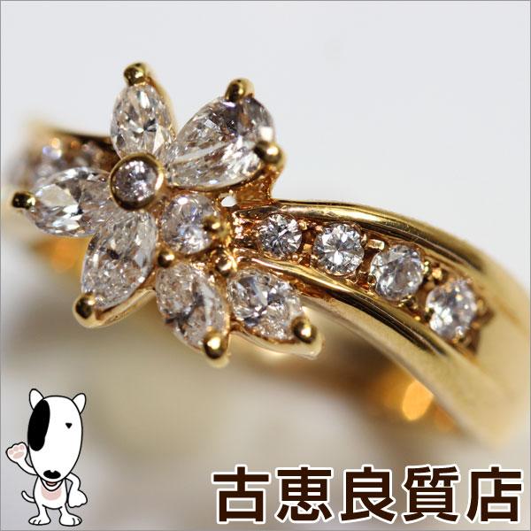 【MR467】【未使用】【買取品】K18 ゴールドリング ダイヤ D.0.75ct 4.8g リングサイズ11号【質屋出品】【あす楽】【値下げ】