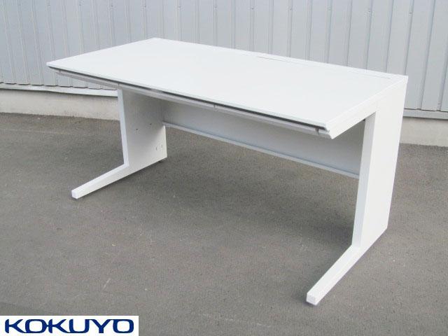 【中古】 コクヨ ISデスクシステム スタンダードテーブル ホワイト【中古オフィス家具】