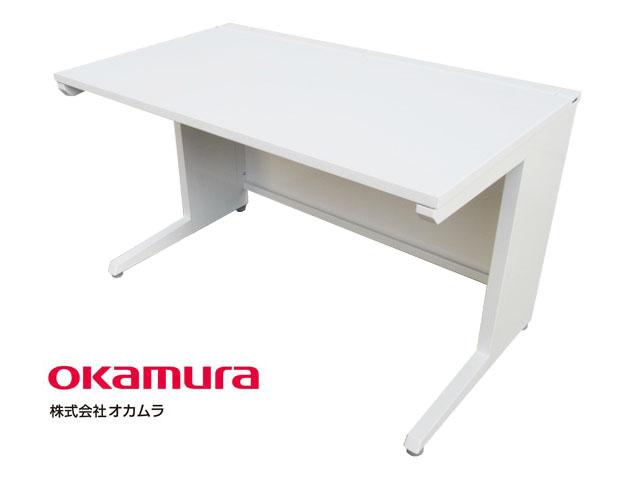 【中古品】オカムラ アドバンス 平机 L脚 W1200 '16年製【中古オフィス家具】