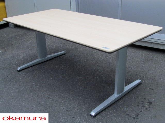 【SALE】【中古】 オカムラ リフティオ ローテーブル 1800W【中古オフィス家具】