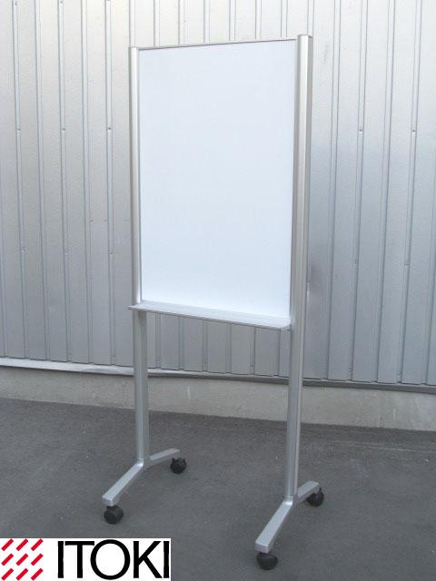 【中古】【美品】 イトーキ ALシリーズ 小型ホワイトボード(両面ホワイトボード)オフィスアクセサリー 【中古オフィス家具】