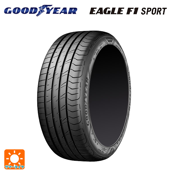新品タイヤ 1本 値下げ 美品 送料無料 取付対象 215 45R18 93W イーグルF1 スポーツ サマータイヤ 新品1本 XL 18インチ グッドイヤー