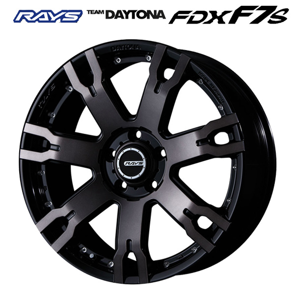 18インチ RAYS TEAM DAYTONA FDX F7S KZ 7.5J-18 新品ホイール1本