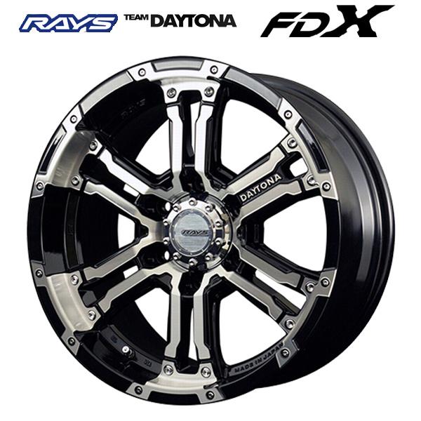 17インチ レイズ チームデイトナFDX DK 8.0J-17+20 6/139.7 ホイール新品1本