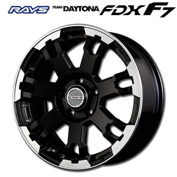 17インチ レイズ チームデイトナFDX F7 KT 7.0J-17+40 5/114.3 ホイール新品1本