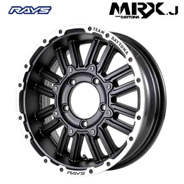 16インチ RAYS TEAM DAYTONA MRX.J BJ 5.5J-16 新品ホイール1本