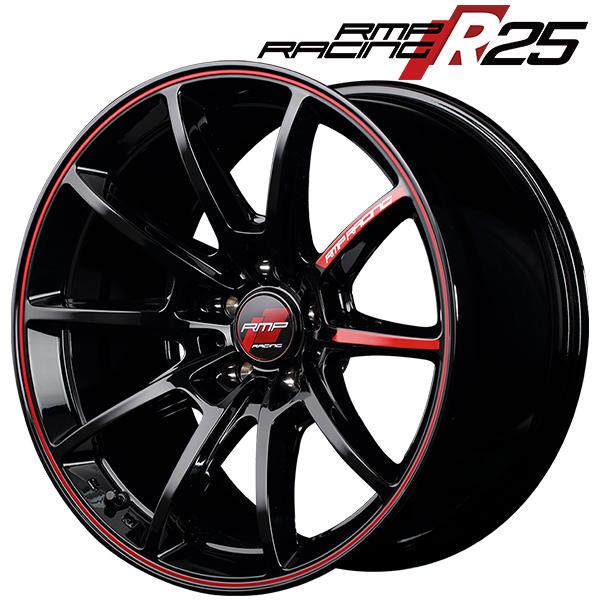 18インチ RMP RACING R25 8.0J-18 新品ホイール1本
