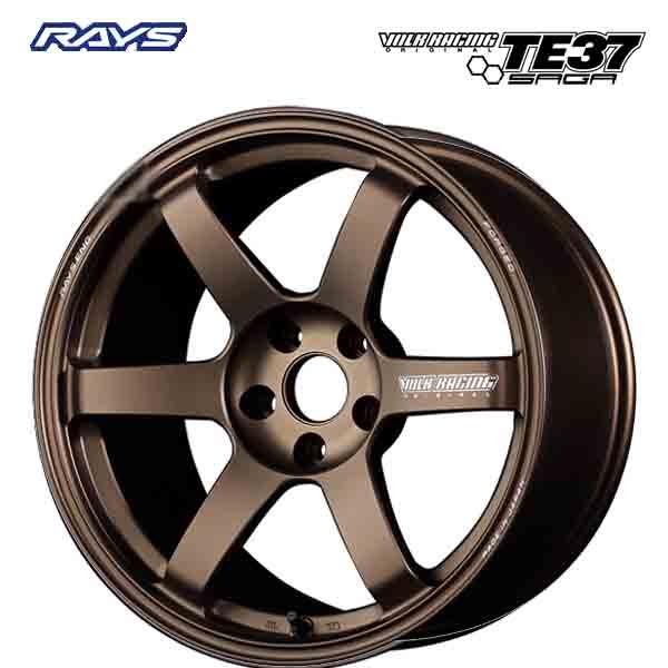 18インチ RAYS ボルクレーシング TE37SAGA BR 8.0J-18 新品ホイール1本
