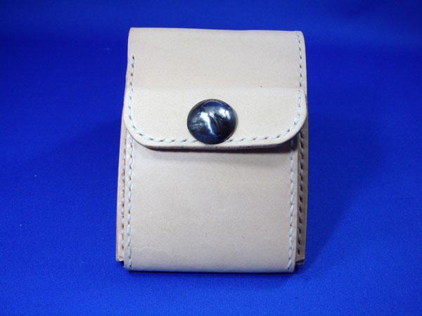 二つ折り財布 メンズ/コンチョ付 ビルフォード二つ折り財布