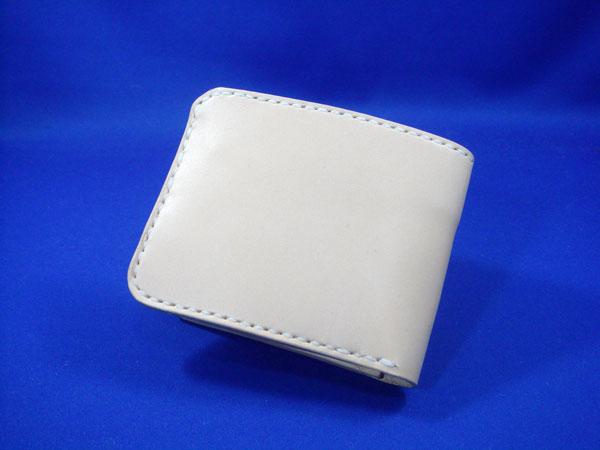 二つ折り財布 メンズ/二つ折り財布2 手縫い レディース