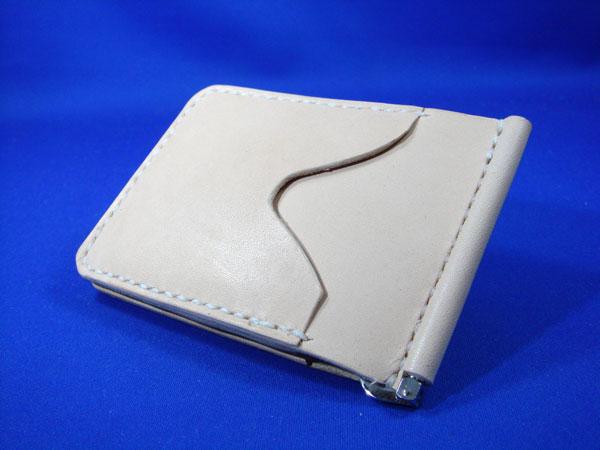 マネークリップ1 サドルレザー 手縫い 本革