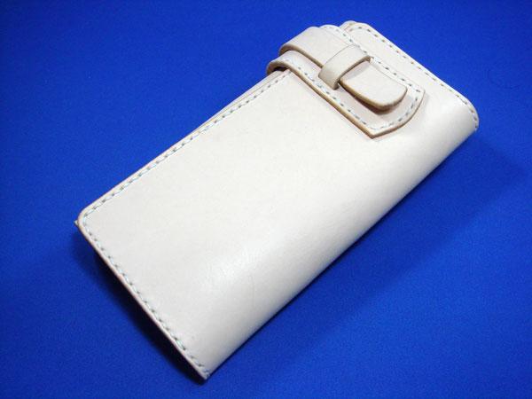 長財布 メンズ/ぎりぎりポケットに入る極太 長財布