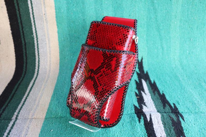 レッドパイソン ウォレット、ウォレットホルダー、ホルダ- 3点セット品 メンズ 送料無料