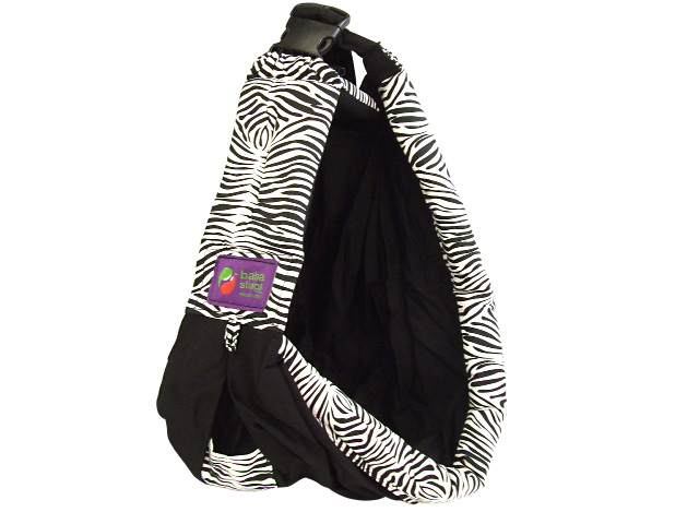 ♪ gift packing is possible to a baby gift! Baba Slings Baba sling baby carrier cuddle string boutique black zebra