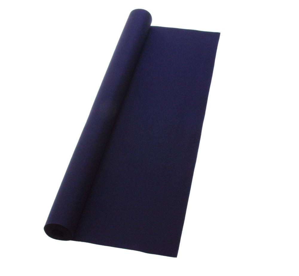 書道下敷 180cm幅×500cm 紺 高級フェルト2mm