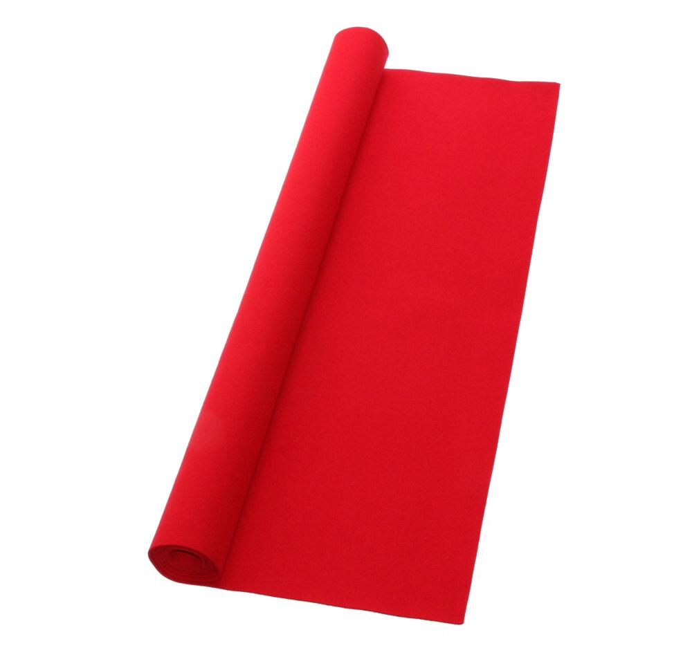 書道下敷 180cm幅×400cm 赤 高級フェルト2mm
