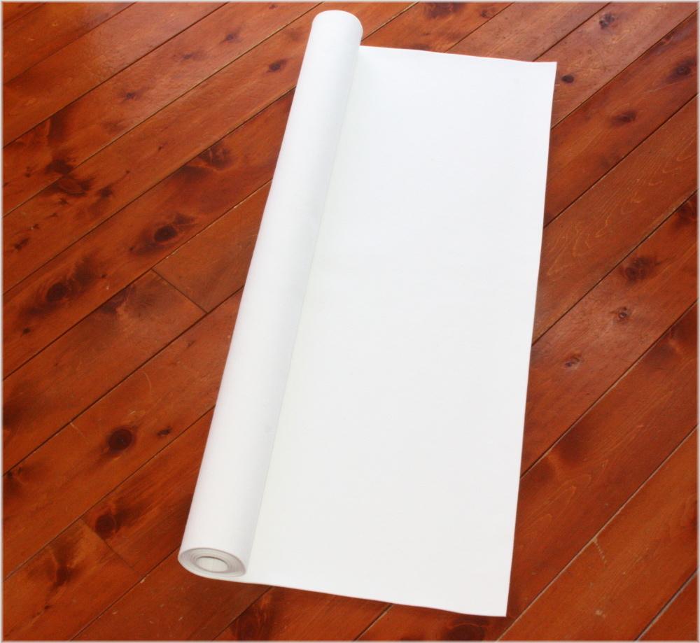 【書道下敷き】撥水効果が高く、シワにならない上質の下敷き。 書道下敷 180cm幅×500cm 白 高級フェルト2mm