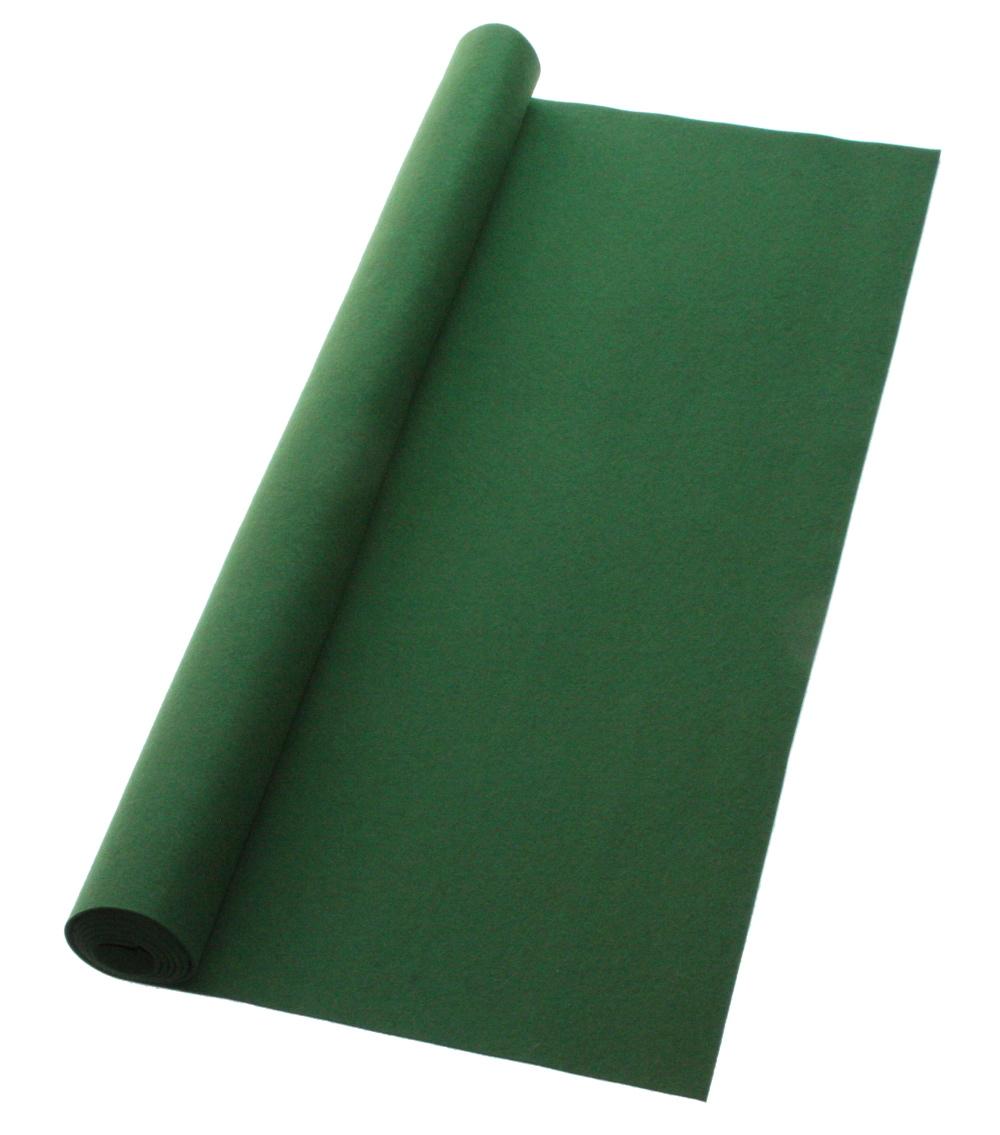 【書道下敷き】撥水効果が高く、シワにならない上質の下敷き。 書道下敷 180cm幅×300cm 抹茶 高級フェルト2mm