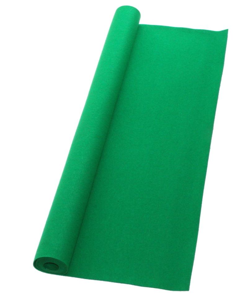 書道下敷 180cm幅×400cm 緑 高級フェルト2mm