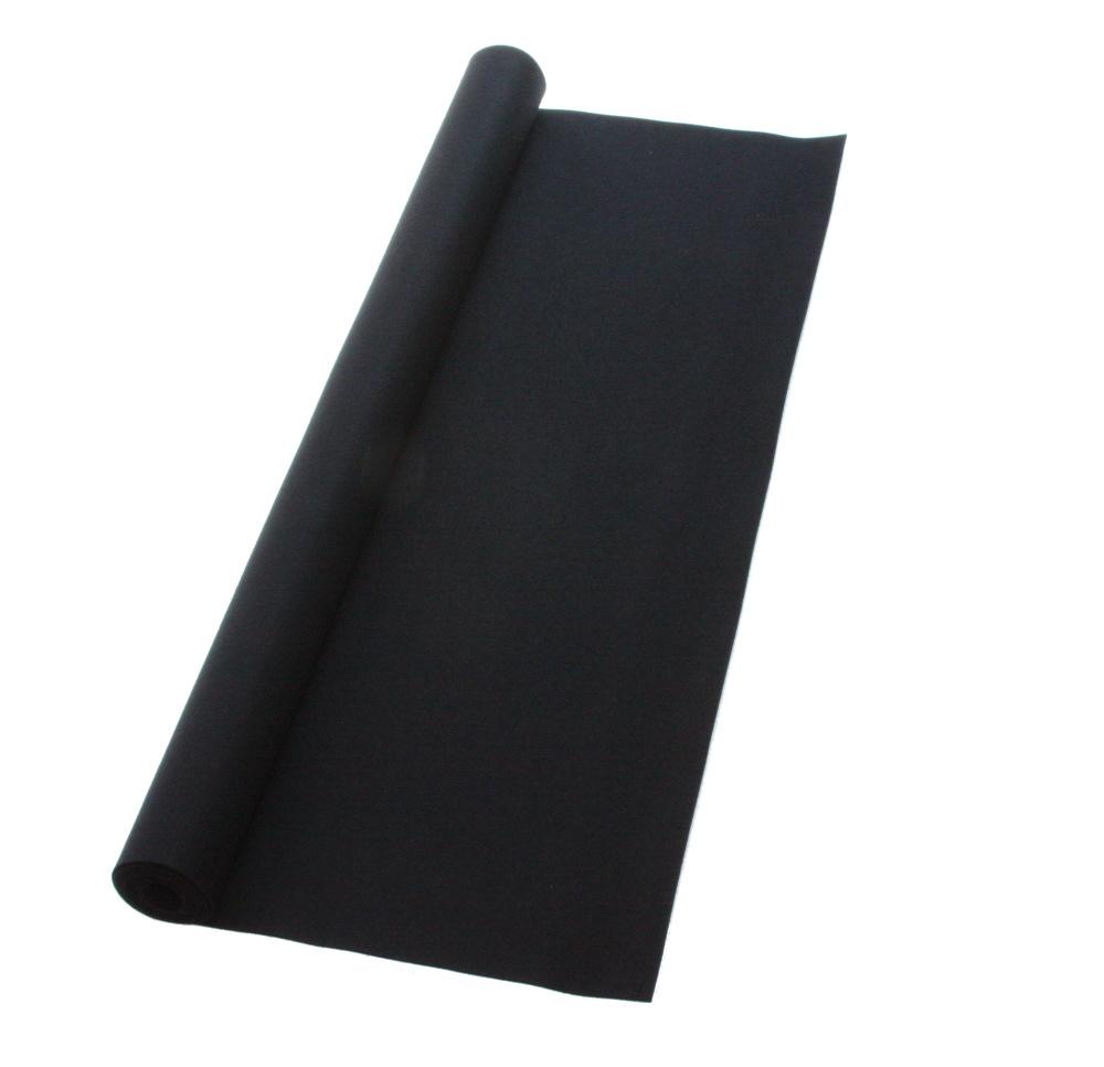 書道下敷 3尺×10尺 黒 高級フェルト3mm