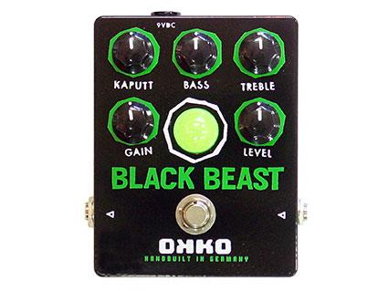ファズ/ディストーション OKKO BLACK BEAST [送料無料!]【smtb-TK】