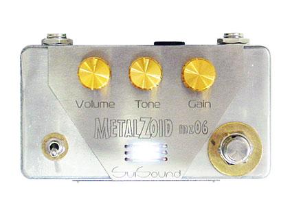 ハイゲインディストーション SviSound [エスヴィアイサウンド] MetalZoid mz06 [送料無料!]【smtb-TK】