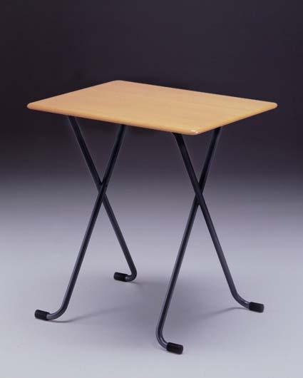 フォールディングテーブル [ルネセイコウ] W-62T テーブル角 ナチュラル/ブラック 送料無料 【北海道・沖縄・離島 発送不可】
