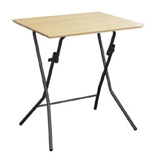 スタンドタッチテーブル ルネセイコウ SB-645 ナチュラル/ブラック 送料無料
