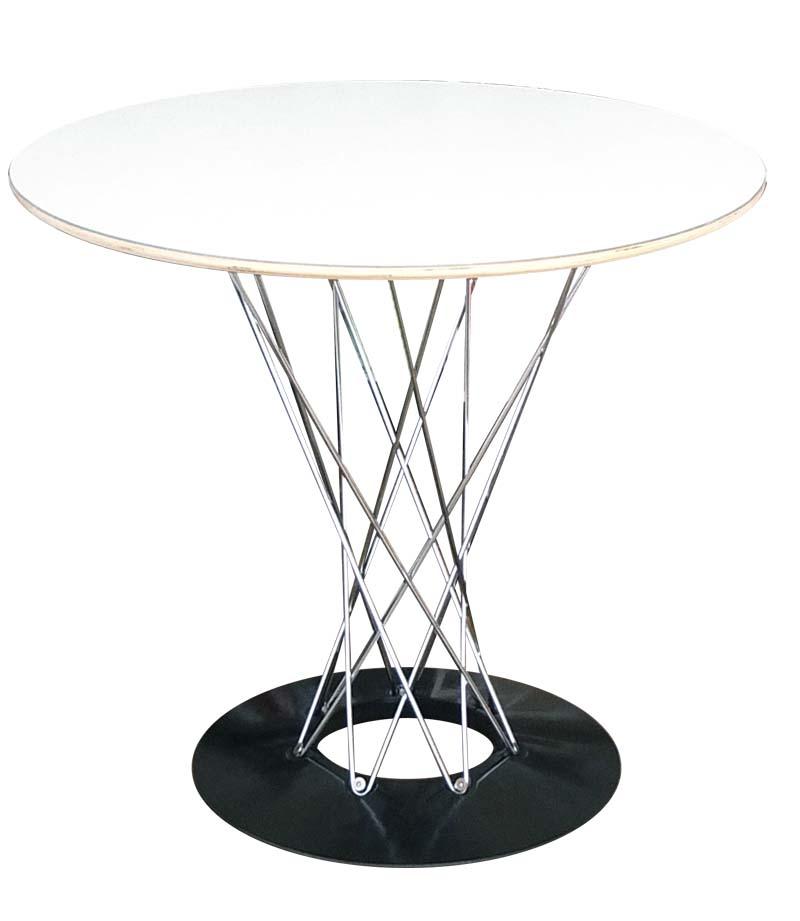 イサム・ノグチ サイクロンテーブル 80cm WCT-80 ホワイト 送料無料