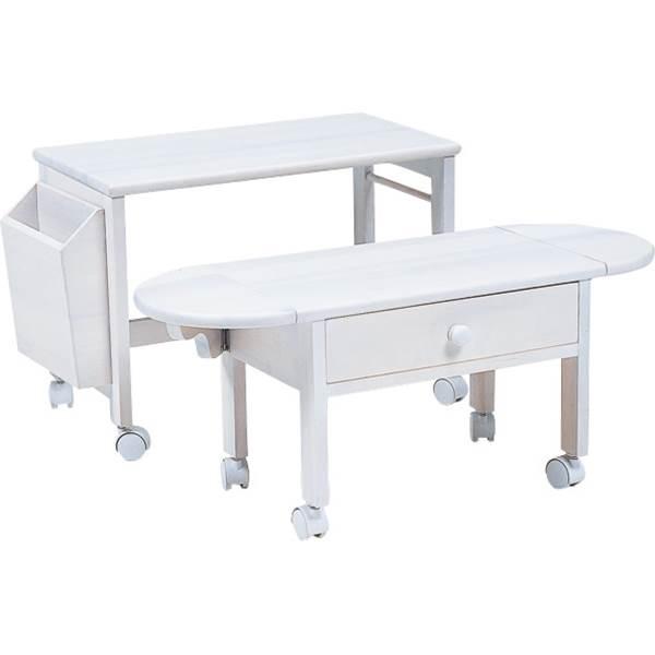 パソコンテーブル(ホワイト) MT-2702WH 送料無料 【北海道・沖縄・離島 発送不可】
